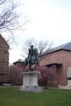 Statue @ Brown University